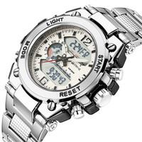 Wholesale solar luxury watch resale online - Stryve Mens Sports Watches Military Hour Electronic Clock Quartz Digital Stainless Steel Luxury Watch horloges mannen Y200113