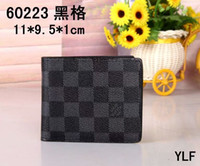 Wholesale cover code resale online - Brands Luxurious Real Leather Multicolor Coin Purse Date Code Short Wallet Card Holder Women Man Classic Zipper Pocket