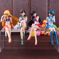 seemann jupiter puppe großhandel-Anime Sailor Moon Figur Break Time Figur Sailor Mars Merkur Venus Jupiter Action Figure Puppe Spielzeug 14 cm