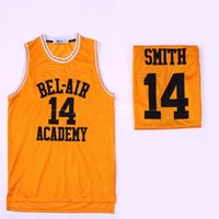prinz s großhandel-Der frische Prinz von Bel-Air # 14 Will Smith Academy 25 Carlton Banks 01 Jack 0 Alien Monstars Schwarz Rot Movie Basketball-Trikots XXXL S-3XL