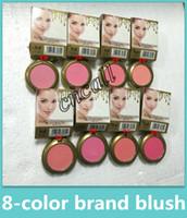 ingrosso mineralizzare il makeup blush-Hot MINERALIZE Blush bronzer Baked Makeup Powder Blush 8 colori Sheertone Blush Cosmetici portatili professionali Spedizione DHL