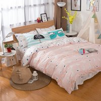 Wholesale pillowcase children bedding resale online - 7 Set Baby Crib Set Cotton Soft Bed Sheet Pillowcase Newborn Crib Bumper Children Cot Beeding Set Kid Stripe Pattern Bedding
