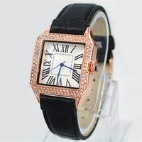 relojes bewegungsuhr großhandel-2019 brand new damenuhr quarzwerk chronograph echtes leder armband uhr relogies uhren beste geschenke für mädchen luxus armbanduhr
