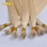 Wholesale peruvian hairpiece for sale - Group buy VMAE g strand s Queen Hair Products quot To quot Raw Virgin Straight Hairpiece Stick Tip Nano Ring Human Hair Extensions