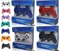Wholesale bluetooth games android resale online - DHL Wireless Bluetooth Game Controller for PlayStation PS3 Game Controller Gamepad Joystick for Android Video Games With Retail Box