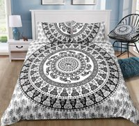 Wholesale queen elephant bedding for sale - Group buy Queen Size Bedding Set India Style Bohemia Elephant D Duvet Cover King Retro Double Twin Full Single Bed Cover with Pillowcase