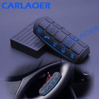 uzaktan kumandalı araç kullanıldı toptan satış-Evrensel Araba Direksiyon Uzaktan Kumanda Düğmeleri kullanın araba radyo android DVD GPS oynatıcı Çok fonksiyonlu Kablosuz Denetleyici
