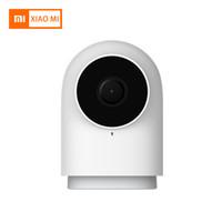 cámara g2 al por mayor-Xiaomi Aqara Smart Camera G2 1080P Gateway Edition Zigbee Linkage Dispositivos inteligentes Cámara IP con visión nocturna para la oficina en casa Baby Monittor