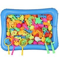 детские игрушки для детей оптовых-Детская рыбалка игрушка бассейн набор преимущество разведки удочка