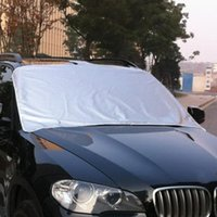 Wholesale frosted sticker resale online - Car Truck Magnet Windshield Windscreen Cover Sun Snow Ice Frost Protector Sticker Supplies In Stock For Dropping Ship