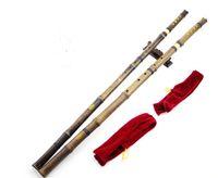 xiao instrumento chino al por mayor-Flauta de bambú púrpura profesional Xiao instrumento chino Shakuhachi China clásico instrumento de música tradicional envío gratis