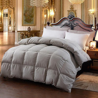 Wholesale feather quilts resale online - New Hot Down Comforter For Winter Autumn Duvet Insert Blanket Filling Feather Down Quilt Duvet King Queen Twin Size