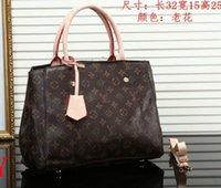 nomes de negócios de sacos venda por atacado-2019 modelos de explosão moda feminina retro bolsa de luxo big-name bolsa de ombro conveniente saco de negócios