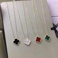 Wholesale necklaces shells resale online - Fashion material flower pendant necklace with Nature black and white shell for women wedding necklace jewelry gift PS7006