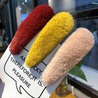 ingrosso clip di capelli coreani dei capretti-Le nuove ragazze coreane fermagli per capelli progettista pelliccia clip donne designer di accessori per capelli per le donne BB clip bambini barrettes A8012