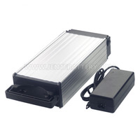 Wholesale battery lithium ion resale online - EU US AU High power ebike battery v AH Rear rack lithium ion battery for W to W motor BMS Charger