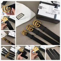826e8cf56 g Los hombres de la marca de moda caliente Gg hebilla de diseño de cuero  genuino correas en V para hombres Letra Double H hebilla hombres mujeres  cinturones ...