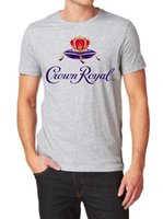 Wholesale free loom for sale - CROWN ROYAL CANADIAN WHISKY LOGO T SHIRT FRUIT OF THE LOOM PRINT BY EPSONFunny Unisex Casual Tshirt