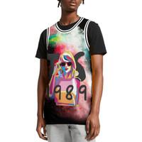 vinyle de basket achat en gros de-Taylor-CD-Swift-artist-vinyl deluxe Jersey de basket-ball de créateur pour homme Jersey de sport 100% polyester sans manches Chemise décontractée Tops Pull