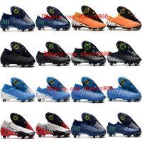 Wholesale pro shoes resale online - 2019 mens soccer cleats Mercurial Superfly Elite SG PRO AC soccer shoes cheap CR7 Mercurial Vapors Elite SG PRO football boots