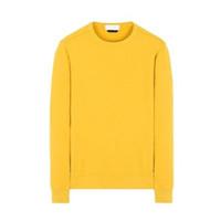 hochwertige sweatshirts großhandel-Europäische Sweatshirts 18FW Rundhalsausschnitt SWEATER Hohe Qualität Komfortable Casual Style Mode Sweatshirts Acht Farbe S-3XL HFSSWY210