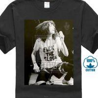 neue wellen t-shirts großhandel-Patti Smith New Years T-Shirt 217 Hemd Punk New Wave Folkletter T-Shirt Männer Casual Weiß T-Shirt Benutzerdefinierte