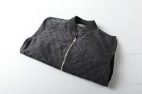 ropa de calidad de china al por mayor-2019 primavera nuevo estilo para hombres s diseñador de ropa letras oscuras chaquetas clásicas tamaño chino ~ tops diseñador chaquetas de alta calidad para hombres