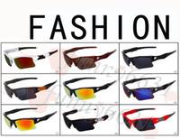 ingrosso nuovissima bicicletta-Occhiali da sole di vetro della bicicletta degli uomini di modo di marca nuovi occhiali sportivi che guidano gli occhiali da sole che ciclano 9 colori di buona qualità trasporto libero