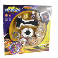 Wholesale classic beyblade toys for sale - Group buy Tops Launchers Beyblade Arena Spinning Top Metal Fight Bey Blade Metal Bayblade Stadium Classic Toy For Child Y200109