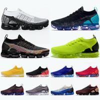 mannschaftsschuhe für großhandel-Nike Air Vapormax 2.0 2019 Runnning Schuhe CNY Olympic HOT PUNCH Staubiger Kaktus NRG Team Rot Laser Orange Mens Women Athletic Spots Turnschuhe 36-45
