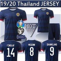 cami xs al por mayor-Tailandia 2020 Escocia camiseta de fútbol Eurocopa 2020 hombres Escocia camiseta de fútbol ROBERTSON FRASER Naismith MCGREGOR CHRISTIE FORREST niño Camis