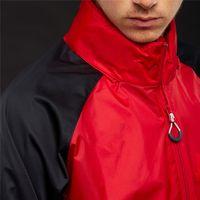 ingrosso calcio jersey hoodie-2019 Designer Giacche Calcio maglie della squadra con cappuccio Patchwork sportivo Zipper cappotto di marca della stampa ricoprono la tuta sportiva B100016L