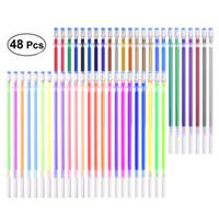 Wholesale painting pastels for sale - Group buy Gel Pen Refills Set Colors Glitter Metallic Pastel Neon Color Ink Refills Gel Ink Refills for Painting Writing Art Drawing