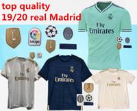 uniforme al por mayor-Jersey de fútbol del Real Madrid 2019/20 en casa NUEVA camiseta de fútbol # 20 ASENSIO ISCO MARCELO madrid 19 20 Uniformes de fútbol talla S-2XL