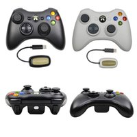 ingrosso ricevitore wireless microsoft-Game controller wireless per XBOX 360 2.4G Wireless Gaming Receiver USB Wireless Gamepad Joypad per Xbox 360 di Microsoft PC Console