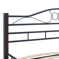 Wholesale beds wardrobes for sale - Group buy Bed Frame Black Metal Cm Bedroom Furniture