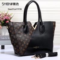 çift çanta toptan satış-Lv gucci KANAL marka tasarımcı kadın çanta omuz çapraz saklama çantası moda lüks deri tasarım 40460