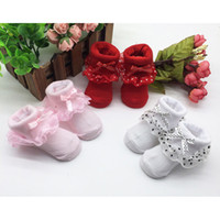 Wholesale stylish toddler resale online - 1 pair Socks Toddlers Combed Cotton Ankle Socks Baby Girls Bowknots Socks stylish breathable Cute