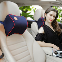 Wholesale accessories for travel for sale - Group buy 1pcs car accessories travel seat memory foam headrest neck pillow cushion for girls