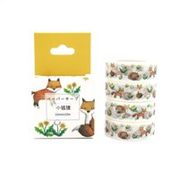каваийская лента оптовых-Box Package Kawaii Little  Washi Tape Excellent Quality Colorful Paper Masking Tape DIY Decorative Tapes 10m*15mm 2016