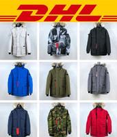 ingrosso giacche invernali cappotto di oca-Canada goose Chilliwack 2019 Nuova giacca firmata per il tempo libero PBI Expedition Parka Fusion Fit Piumino invernale da uomo 10 stili