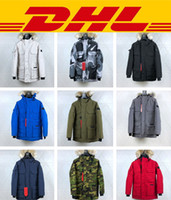 tasarımcı ceketler erkekler toptan satış-Canada Goose Yeni Stil Rahat En Kaliteli Tasarımcı Ceket PBI BEKLENME PARKA FUSION FIT Erkekler Kış Mont Aşağı Parkas
