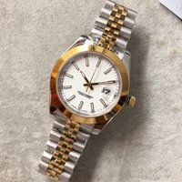 Wholesale wrist watches resale online - Classic Men watches mm Datejust mechanical automatic Top Watches Stainless Steel Business Fashion Master President Mens Wrist Watches