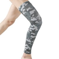 Wholesale legs warmers online - Sport Leg warmer Outdoor Sporting Cycling Hiking Running Soccer Leg Sleeve Compression Leggings Sports Safety Camouflage LJJZ90