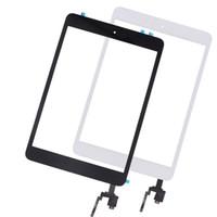 ingrosso cavo di flessione dello schermo di ipad-10pcs la sostituzione del pannello di tocco per iPad Touch Screen Mini 3 Digitizer Assembly casa tasto domestico Flex Cable + IC connettore