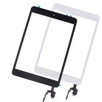 Wholesale connector assemblies resale online - 10Pcs touch panel replacement For iPad mini Touch Screen Digitizer Assembly Home Button Home Flex Cable IC Connector