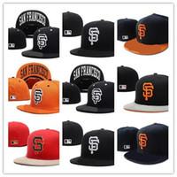 satılık şapkalı şapkalar toptan satış-İyi Satış San Tampa Bay Monte Şapkalar Beyzbol Şapkası Düz ağızlı Şapka Takım Boyutu Beyzbol Şapkası Giants Klasik Retro Moda