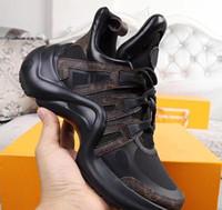 berühmte casual schuhe marken großhandel-Neueste Archlight Sneaker Berühmte Designer Schuhe Mens Brand Monogram Sneakers Womens zunehmende Schuhe Casual Fashion Breathable Athletic Mesh