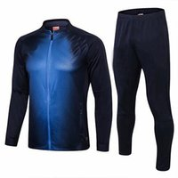 916105201 2018 2019 Italy tracksuit training suit PIRLO BUFFON DE ROSSI BELOTTI  soccer Jerseys kit Italy football jacket tracksuit set men