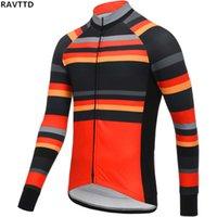 velo inverno ciclismo vestuário venda por atacado-2019 estrada ciclismo inverno jersey mtb bicicleta manga longa maillot ciclismo térmica fleece pro bicicleta clothing